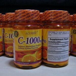 Vitamin C เกรดอเมริกา JP Natural