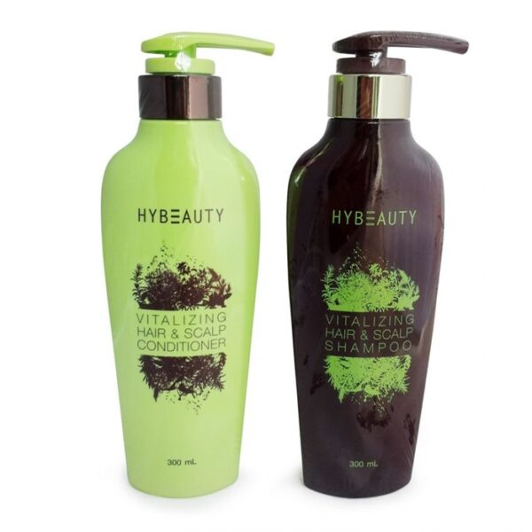 HyBeauty Vitalizing Hair & Scalp Shampoo + conditioner