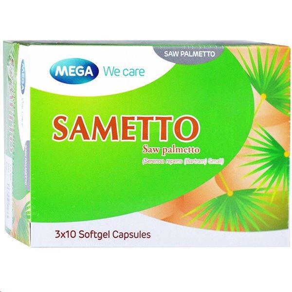 sametto บรรเทาอาการต่อมลูกหมากโต ปัสสาวะขัด
