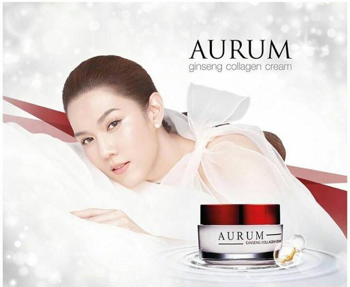 ครีม Aurum Ginseng Collagen Cream
